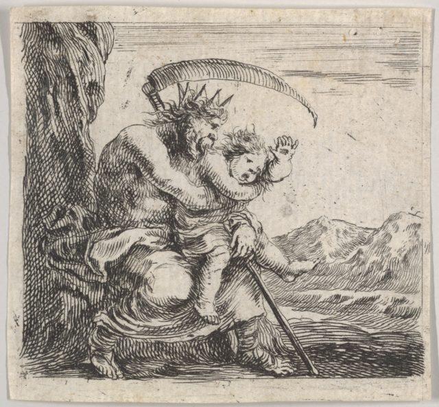 Saturn, from 'Game of Mythology' (Jeu de la Mythologie)