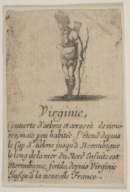 Virginia, from 'Game of Geography' (Jeu de la Géographie)