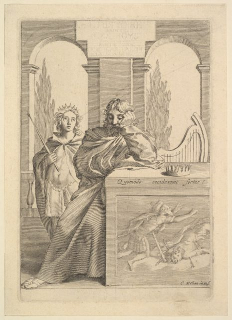 David: Title Page for Talon, L'Histoire sainte, III