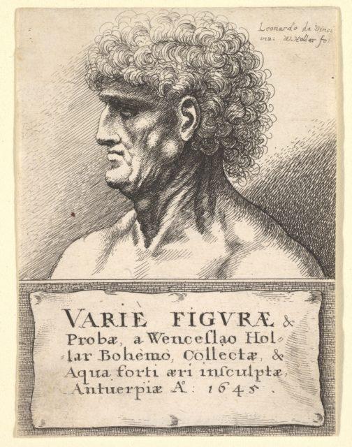 Title-page to 'Varie Figuræ & Probæ'