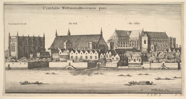 Ciuitatis Westmonasteriensis pars (Westminster from the River)