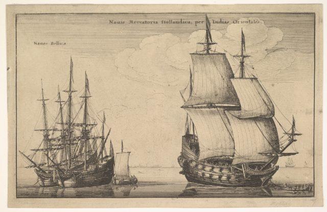 Naues Mercatoriæ Hollandicæ per Indias Occidentales (Dutch East Indiaman)