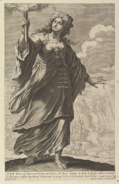 Une Dame de Chypre