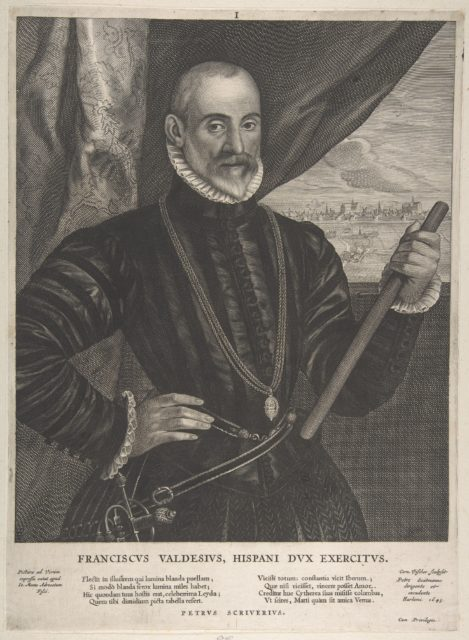 Francisco Valdes, Spanish Commander, from the series Quatuor Personae...