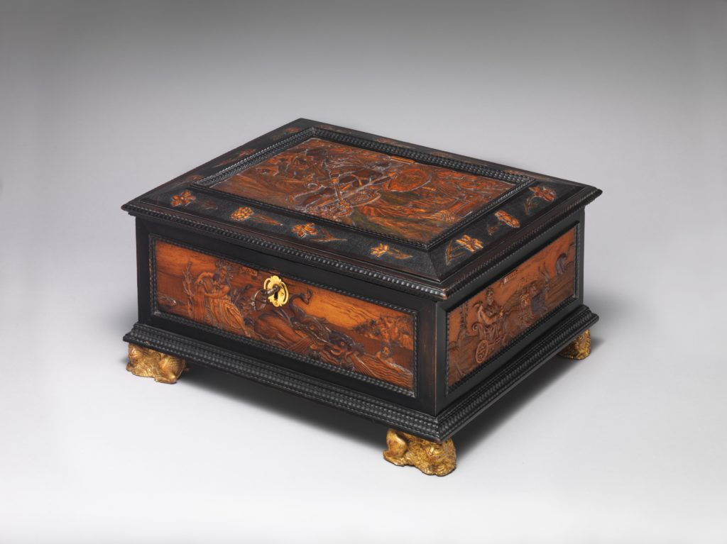 Casket with allegories of the Four Elements