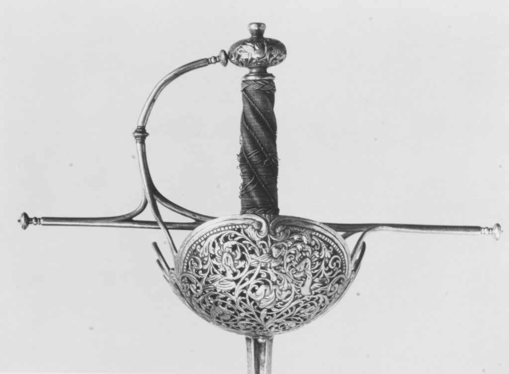 Cup-Hilted Rapier