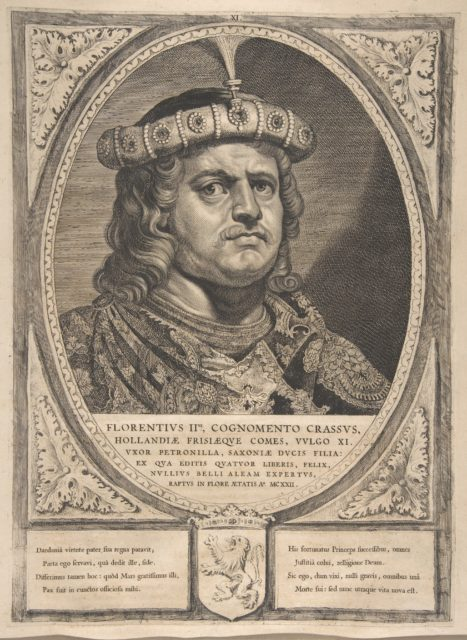 Floris II from the series Counts and Countesses of Holland, Zeeland, and West-Frisia