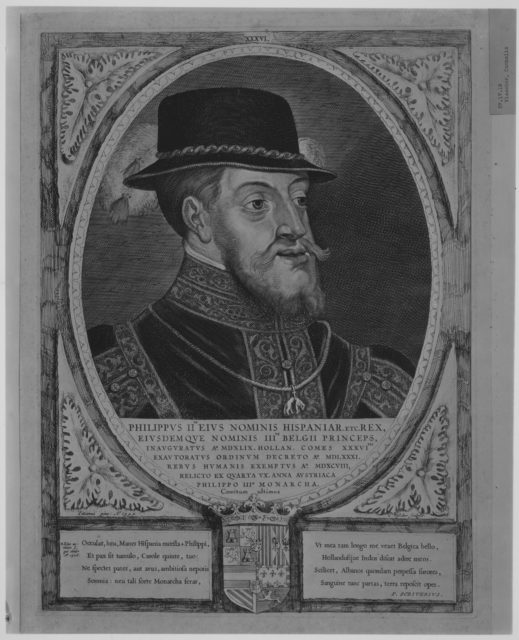 Philip II, King of Spain, from the series Counts and Countesses of Holland, Zeeland, and West-Frisia