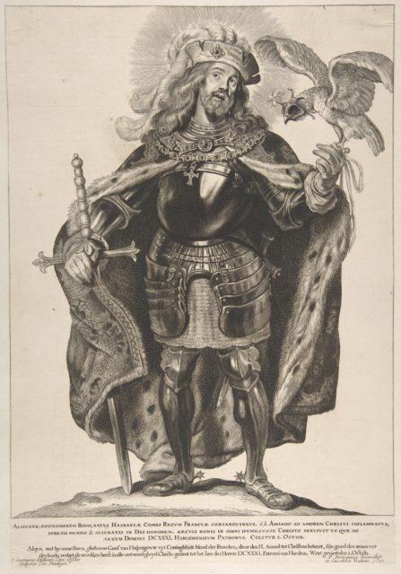 St. Bavo, from the series Saints of North and South Netherlands