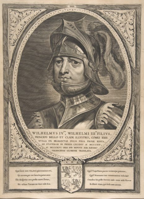 William IV from the series Counts and Countesses of Holland, Zeeland, and West-Frisia