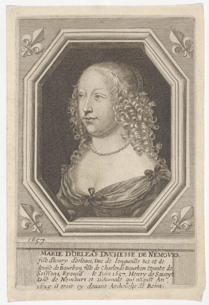 Marie d'Orleans, Duchesse de Nemours