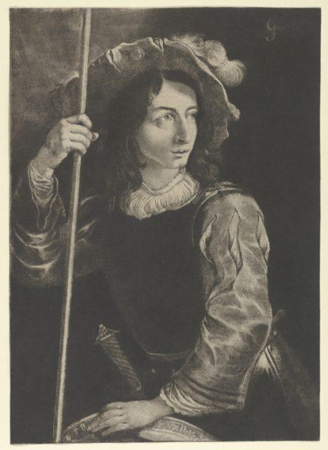 The Great Lansquenet or Standard Bearer