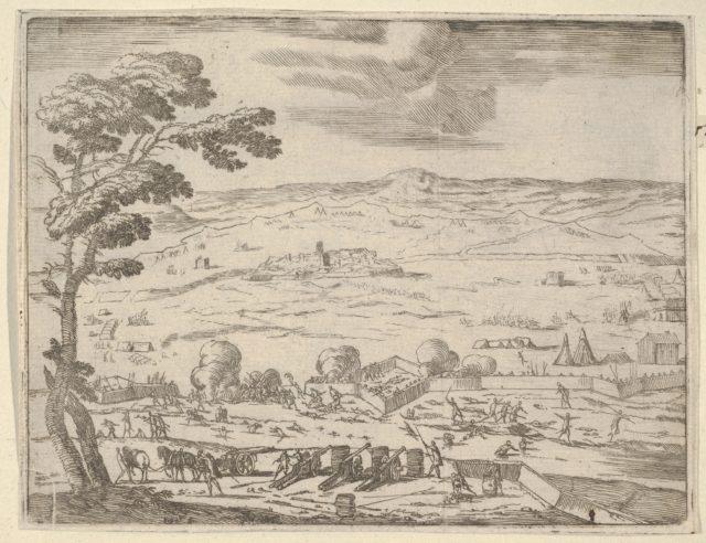 German and Spanish Forts Near Bohemia Were Taken with Great Force Near Bohemia, from L'Idea di un Principe ed Eroe Cristiano in Francesco I d'Este, di Modena e Reggio Duca VIII [...]