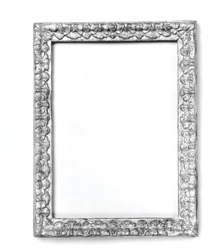 Fragment of Salvator Rosa frame