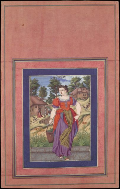 """""""Summer, from a Series of the Four Seasons"""", Folio from the Davis Album"""
