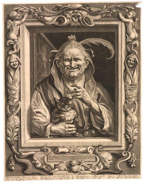 The Elderly Fool and His Cat (c. 1660)