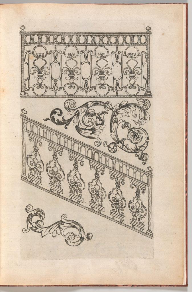 Diverses Pieces de Serruriers, page 16 (recto)