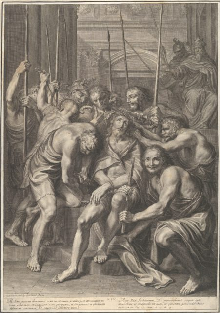 Christ Crowned with Thornes, from The Passion of Christ, plate 14