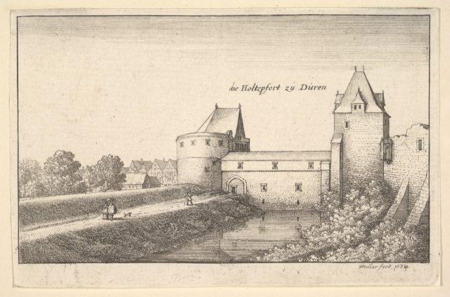 Fortified gate at Düren