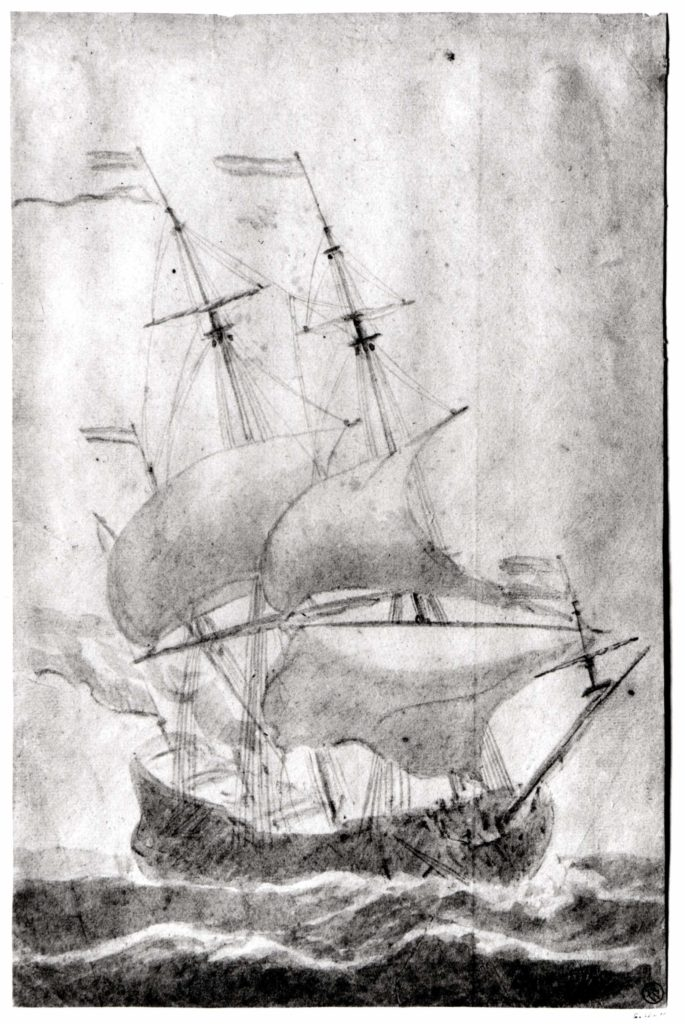 A Dutch Ship in a Strong Breeze