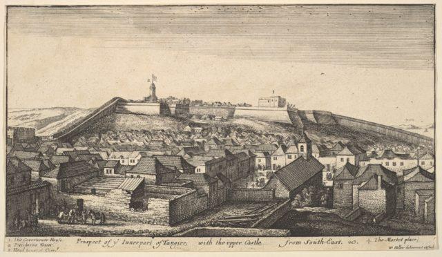 Prospect of the inner part of Tangier