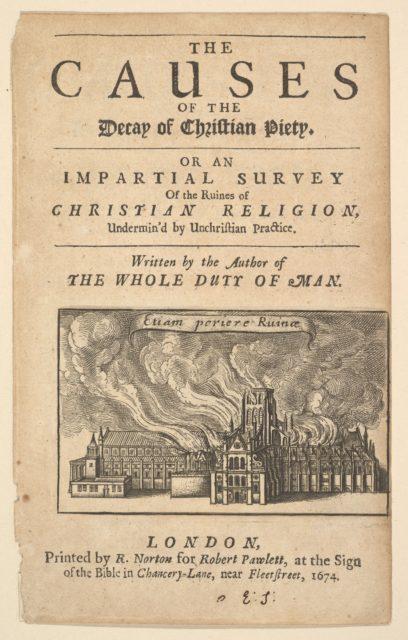 St. Paul's Burning, (Lex ignea)