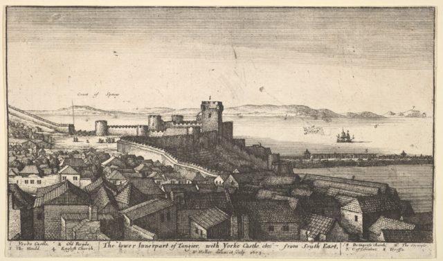 The lower inner part of Tangier