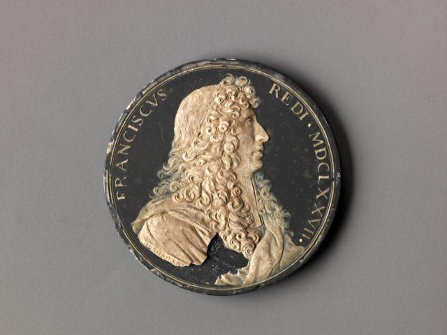Model for a portrait medal of Francesco Redi