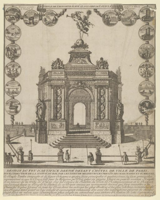The Temple of Honor of the Glory of Louis le Grand