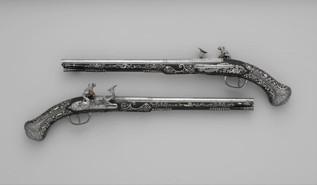 Pair of Snaphaunce Pistols