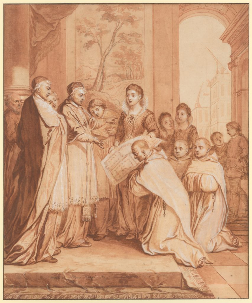 Scene Seven from the Life of the Reverend Jean de la Barrière