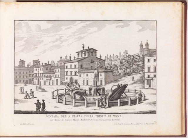 La Fontane di Roma nelle Piazze e Luoghi Publici della Città (...), part 1