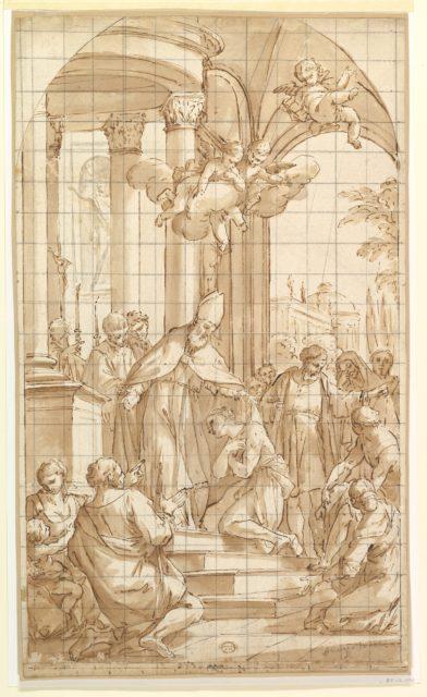 Saint Francis Renouncing His Worldly Goods