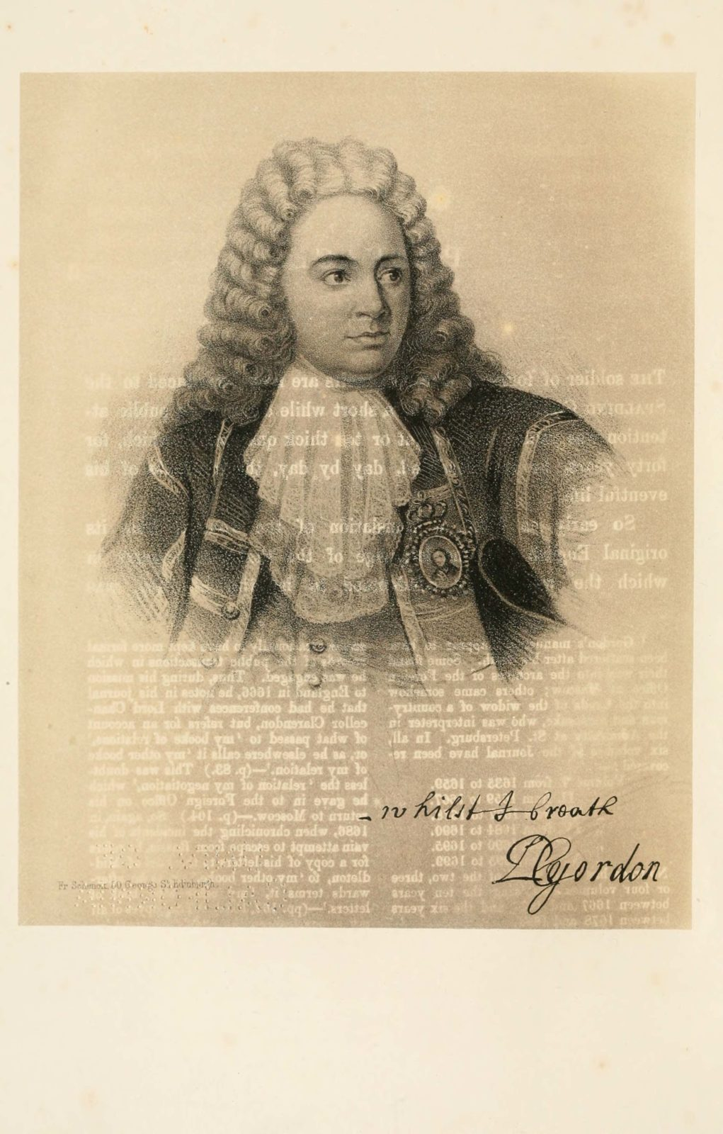 Portrait of General Patrick Gordon of Auchleuchries