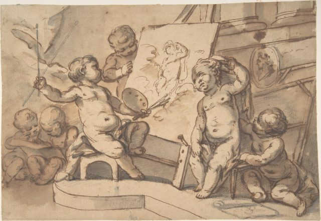 Allegory of Painting with Putti