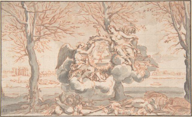 Allegory of Winter, after Sébastien Le Clerc