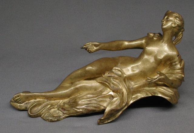 Andiron statuette