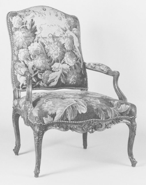 Armchair (one of a set of four)
