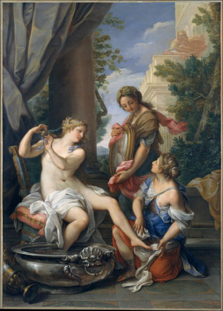 Bathsheba at Her Bath