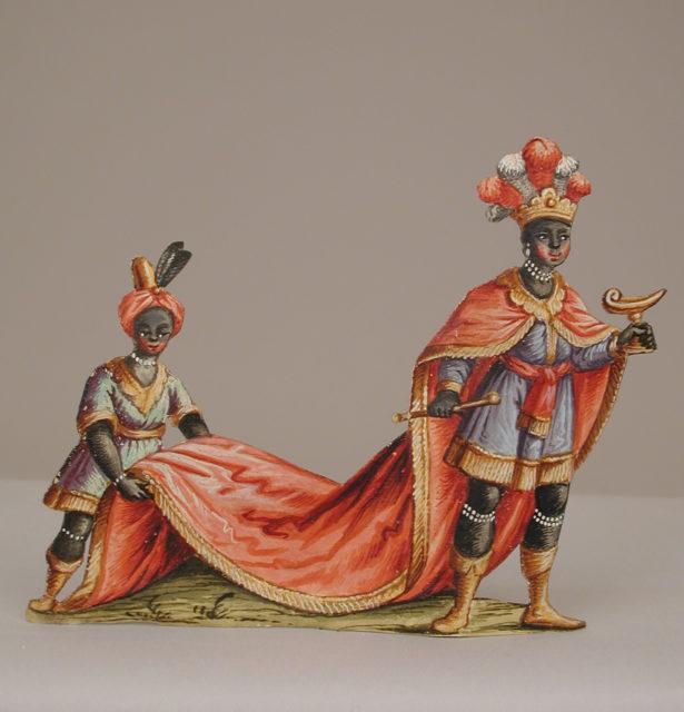 Black Magus with his Blackamoor Attendants
