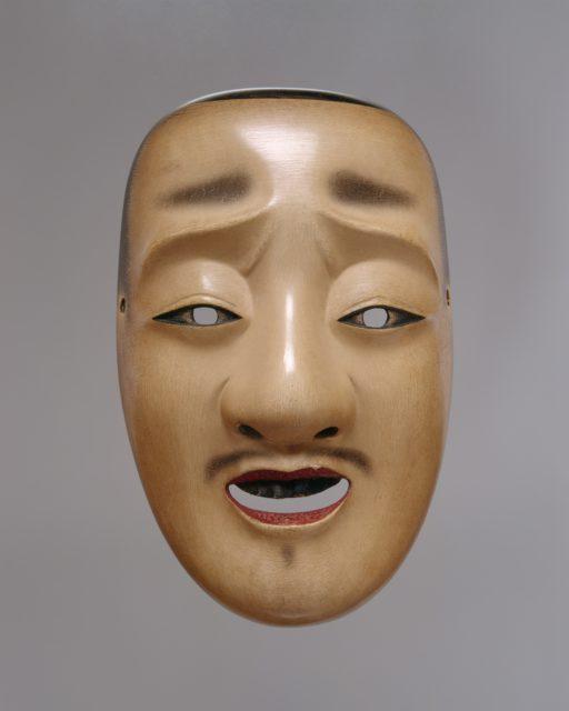 Chūjō Mask for a Noh Drama