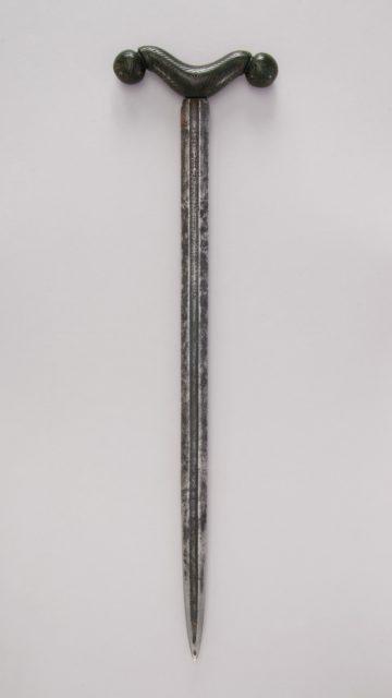 "Crutch Dagger (Zafar Takieh, ""Cushion of Victory"")"