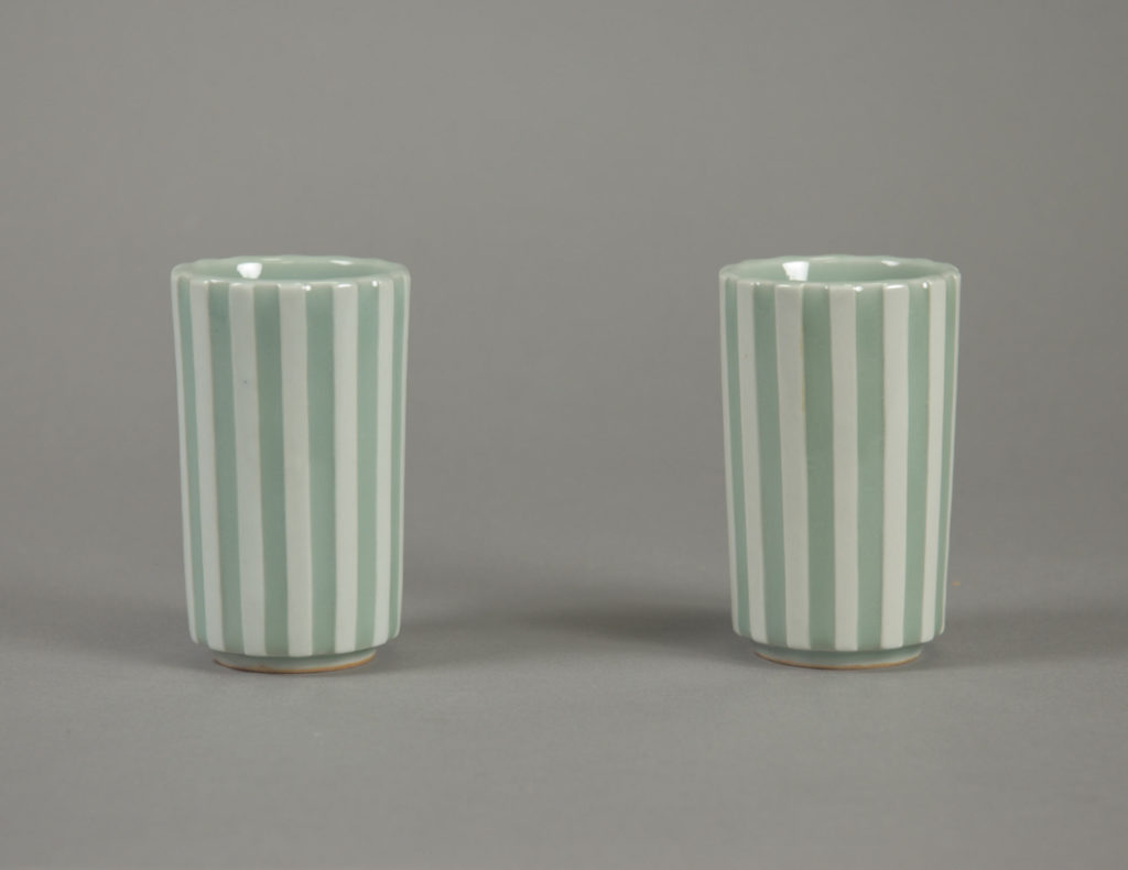 Cup with Striped Design
