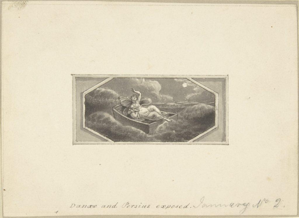 Danae and Perseus Exposed