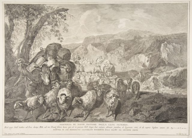 Departure of David the Shepherd from the House of His Father