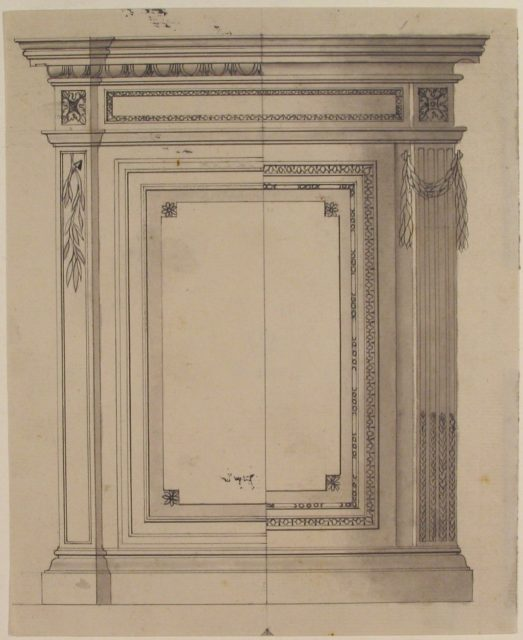 Design for a Cabinet or Console