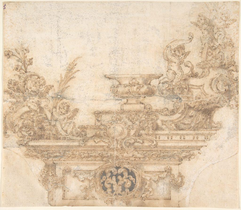 Design for a Triumphal Cart (?)