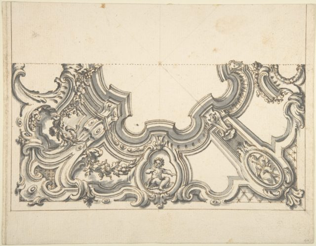 Design for One Half of a Ceiling
