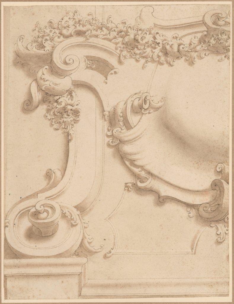 Design for Plasterwork Cartouche