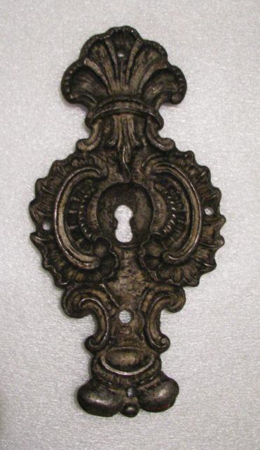 Escutcheon of lock